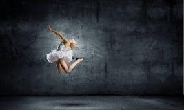 Ballerina girl Stock Photography