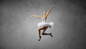 Ballerina girl Royalty Free Stock Photo