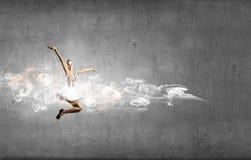 Ballerina girl Stock Image