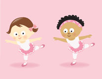 Ballerina girls Stock Image