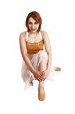 Ballerina graziosa. Immagini Stock