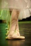 Ballerina het dansen Stock Afbeeldingen