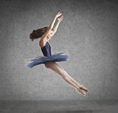 Ballerina Jump Stock Images