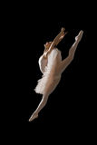 Ballerina in jump Royalty Free Stock Images