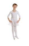 Ballerina jump Royalty Free Stock Image