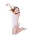 Ballerina jumping Royalty Free Stock Images