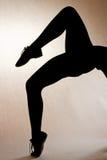 Ballerina legs Stock Image