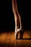 Ballerina Legs En Point Royalty Free Stock Images
