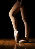 Ballerina Legs Warming Up Royalty Free Stock Image