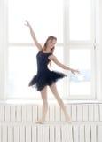 Ballerina. Lifestyle. Beautiful ballerina during performance Stock Photography
