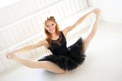 Ballerina. Lifestyle. Beautiful ballerina during performance Royalty Free Stock Photography