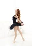 Ballerina. Lifestyle. Beautiful ballerina during performance Stock Image