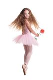 ballerina little Royaltyfri Bild