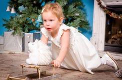 ballerina little Royaltyfri Bild