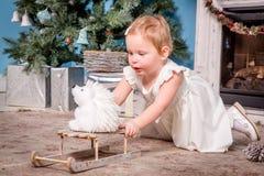 ballerina little Royaltyfria Bilder