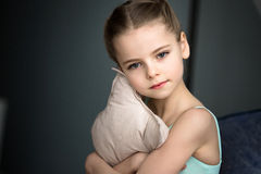 ballerina little Royaltyfria Bilder