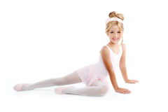 Ballerina little ballet children Royalty Free Stock Photography