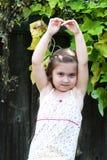 Ballerina-Mädchen Stockfoto