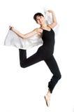 Ballerina med scarfen Royaltyfri Foto
