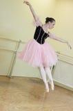 Ballerina in midair Stock Image