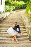 Ballerina in nature Stock Photos