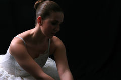 Ballerina in ombra #4 Fotografie Stock