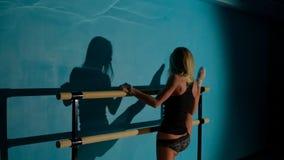 Ballerina opleiding stock videobeelden
