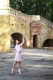 Ballerina outdoors Royalty Free Stock Photography