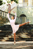 Ballerina outdoors Royalty Free Stock Photo