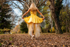 Ballerina Outside Stock Image
