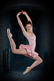 Ballerina performing Stock Photos