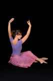 Ballerina Performing Royalty Free Stock Photo
