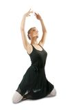 Ballerina  performing a dance Royalty Free Stock Image