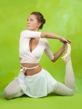 Ballerina  performing a dance Stock Photo