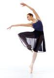 Ballerina performing Royalty Free Stock Photography