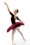 Ballerina performing Stock Images