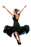 Ballerina Performing Twirl Stock Photos