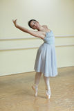 Ballerina on pointe Royalty Free Stock Images