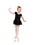 Ballerina in pointe Stock Photo