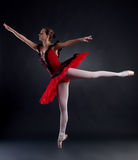 Ballerina posing Stock Photos
