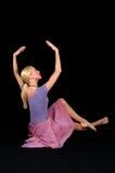 Ballerina Posing Royalty Free Stock Image