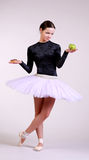 Ballerina posing Stock Photo