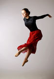 Ballerina posing Stock Images