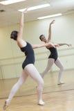 Ballerina in practice Stock Image