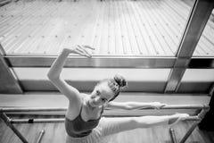 Ballerina Practice Ballet School Concept Royalty Free Stock Photography