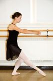 Ballerina Practicing Stock Images