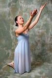 Ballerina Raising Hands Stock Photos
