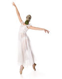 Ballerina is in the respirator Stock Photos