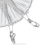 Ballerina. Stock Photos