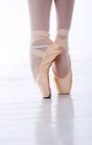 Ballerina's feet Royalty Free Stock Photo